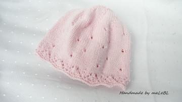 Babyset für kleine Mädchen, Gr. 0-3 Mon.. Rosa, Baumwolle - Handarbeit kaufen