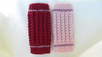 Strickstulpen Babystulpen, Gr. bis ca.12 Mon. aus Wolle (Merino)  - Handarbeit kaufen