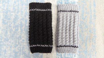 Baby-Strickstulpen, Beinstulpen, Babystulpen aus Wolle (Merino) - Handarbeit kaufen