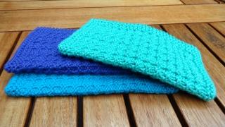 Waschlappen, Seifentuch, handgestrickt aus 100 % Baumwolle kaufen - Handarbeit kaufen