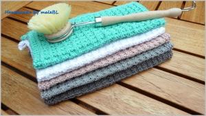 Spültücher, Spüllappen, handgestrickt aus 100 % Baumwolle kaufen - Handarbeit kaufen