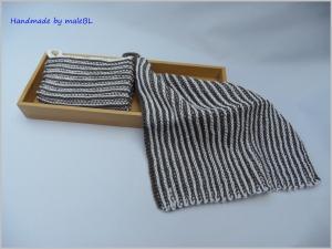 1 Paar Topflappen, handgestrickt aus 100 % Baumwolle - Handarbeit kaufen