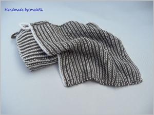 2 Spültücher, Spüllappen handgestrickt aus Baumwolle - Handarbeit kaufen