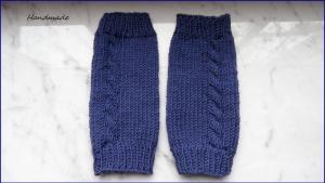 Kinderstulpen, Beinstulpen, handgestrickt, passend für 2-3 Jahre - Handarbeit kaufen