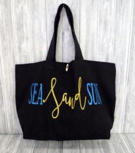 Shopper Tasche maritim Meer Strandtasche