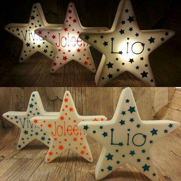 Stern Licht Lampe LED Nachtlicht Geschenk