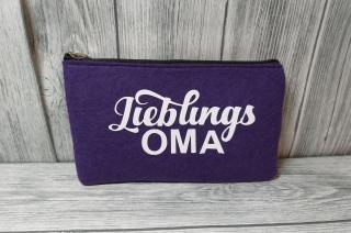 Filztasche Oma Mäppchen Täschchen Tasche