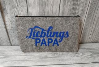 Filztasche Papa Mäppchen Täschchen Tasche