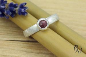 Ring Silber 925/- mit Turmalin - Handarbeit kaufen