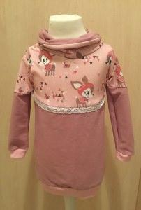 ♥ Mini Missy ♥  Gr. 86 Winterkitz  ♥ rosé ♥ Pullover mit Rollkragen