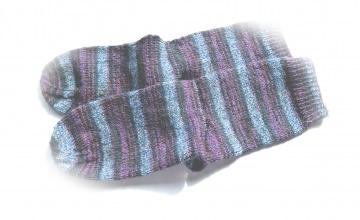Socken Gr. 37/38 ♥ Socken - Handgestrickte Socken - Die kleine Bastelwerkstatt