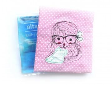 Kühlpadhülle - Wärmepad - Beulentröster - Cute Girl