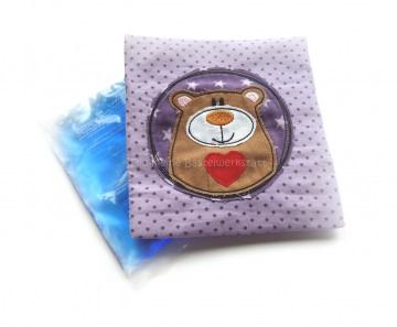 Kühlpadhülle - Wärmepad - Beulentröster - Bär - BärBel