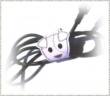 Kabelhalter ♥ Kabelbinder ♥ Hund