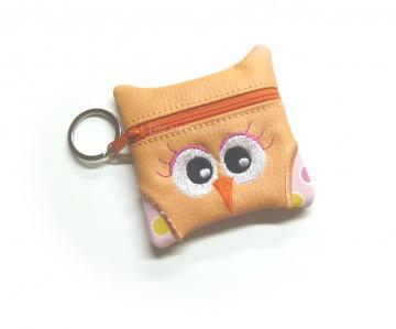 Täschchen - Schlüssel Etui - Eulchen - Universaltasche -