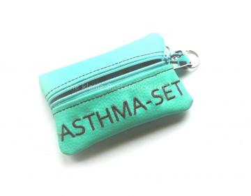 Täschchen - Notfalltasche - Asthma Tasche - Asthma - Schlüssel Etui