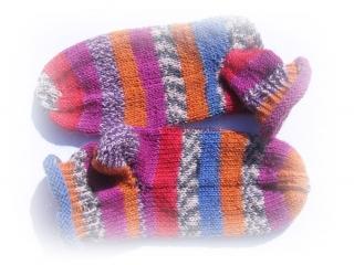 Socken Gr. 25 ♥ Socken - Handgestrickte Socken ♥ Kindersocken - Die kleine Bastelwerkstatt