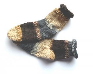 Baby-Socken Gr. 18  ♥ Socken - Handgestrickte Socken ♥ Kindersocken ♥  Die kleine Bastelwerkstatt