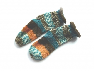 Baby-Socken Gr. 17/18  ♥ Socken - Handgestrickte Socken ♥ Kindersocken ♥  Die kleine Bastelwerkstatt