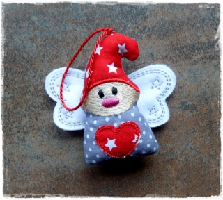 Wichtel ★ Wichtelanhänger ★ Weihnachts-Wichtel ★ Weihnachtsbaum Schmuck ★ Die kleine Bastelwerkstatt