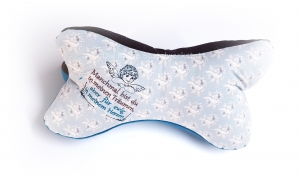 Leseknochen - Engelchen - Kissen - Nackenstütze - Schutzengel