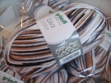 günstiges Strickgarn, Lisa color Fb. 08, Nadelstärke 3-4, Polyacryl, wildernd    - Handarbeit kaufen