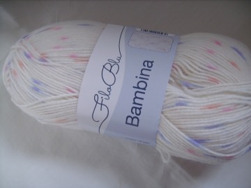 Strickgarn Bambina Fb. 01, Babygarn,  Nadelstärke 4-5 - Handarbeit kaufen
