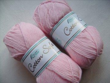 Strickgarn Cotton soft Fb.  10, rosa, Baumwolle-mischgarn, Nadelstärke 3-4           - Handarbeit kaufen