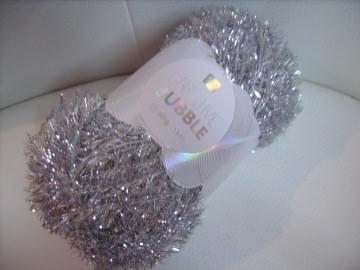 Spezialgarn für Peeling-/Spülschwämme Creative Bubble Fb. 14, silber, Nadelstärke 2-4 - Handarbeit kaufen