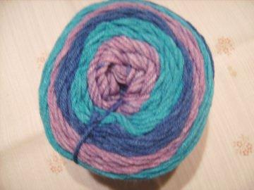 Strickgarn Lolly Pop Fb.11, farbverlaufend, Nadelstärke 5-6   - Handarbeit kaufen
