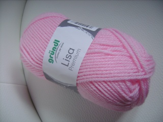 günstiges Strickgarn, Lisa premium Fb. 5, rosa, Nadelstärke 3-4, Polyacryl,          - Handarbeit kaufen