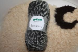 Strickgarn Scotland Fb. 13, farbverlaufend, Wollgemisch           - Handarbeit kaufen