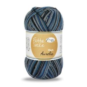 Sockenwolle Flotte Socke Aurelia Fb. 1534, 4-fädig, musterbildend             - Handarbeit kaufen