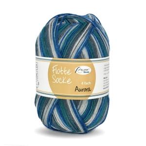 Sockenwolle Flotte Socke Aurora Fb. 1491, 4-fädig, musterbildend                 - Handarbeit kaufen