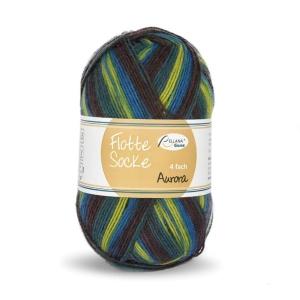 Sockenwolle Flotte Socke Aurora Fb. 1496, 4-fädig, musterbildend                 - Handarbeit kaufen
