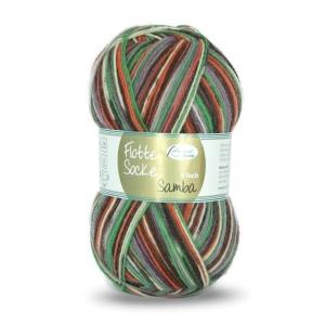 Sockenwolle Flotte Socke Samba Fb. 1293, 4-fädig, musterbildend          - Handarbeit kaufen