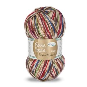 Sockenwolle Flotte Socke Scandinavia Fb. 1474, 4-fädig, musterbildend                 - Handarbeit kaufen