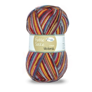Sockenwolle Flotte Socke Victoria Fb. 1361, 4-fädig, musterbildend                  - Handarbeit kaufen