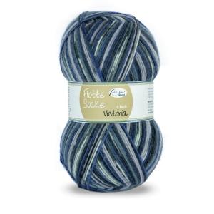 Sockenwolle Flotte Socke Victoria Fb. 1364, 4-fädig, musterbildend                    - Handarbeit kaufen