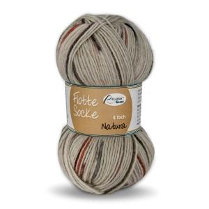 Sockenwolle Flotte Socke Natura Fb. 1575, 4-fädig                 - Handarbeit kaufen