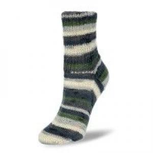 Sockenwolle 150gr. Flotte Socke Aurelia Fb. 7072, 6-fädig, streifenbildend      - Handarbeit kaufen