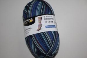 Sockenwolle  Schachenmayr  Fun stripe color Fb. 3728, streifenbildend, 4-fach  - Handarbeit kaufen
