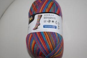 Sockenwolle  Schachenmayr  Fun stripe color Fb. 3726, streifenbildend, 4-fach    - Handarbeit kaufen