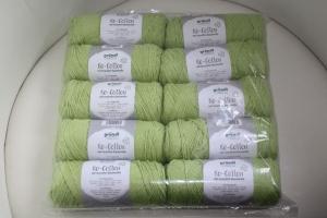 Recyceltes Baumwollgarn Re-Cotton Fb. 5, maigrün - Handarbeit kaufen