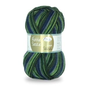 Sockenwolle Flotte Socke Salsa Fb. 1282, 4-fädig, musterbildend               - Handarbeit kaufen