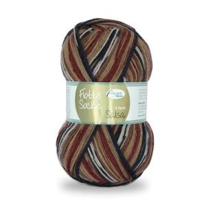 Sockenwolle Flotte Socke Salsa Fb. 1284, 4-fädig, musterbildend               - Handarbeit kaufen