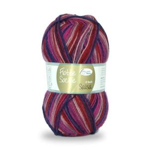 Sockenwolle Flotte Socke Salsa Fb. 1285, 4-fädig, musterbildend                - Handarbeit kaufen