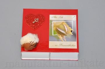 2. Hochzeitstag Baumwollhochzeit Geschenkverpackung