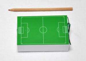 Geschenkschachtel - Geldgeschenk - Fußball - Fußballfeld
