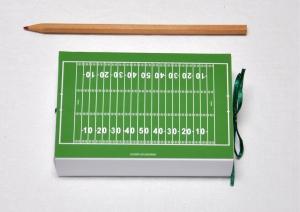 Geschenkschachtel - Geldgeschenk - American Football - American Footballfeld